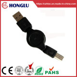 Practical Retractable Data USB Cable for Computer with RoHS