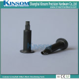 Custom Flat Head Knurled Semi Tubular Rivet Carbon Steel Fasteners