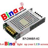 5V 200W Classic Backup Power Supply for Full-Color Outdoor LED Display Ce Certification