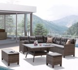 Modern Garden Patio Leisure Home Office Hotel Lounge Rattan Outdoor Furniture (J546-POL)