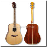 "[Winzz] Solid Spruce Top 41"" Dreadnought Acoustic Guitar"