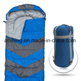 Four Season Camping Single Sleeping Bag Envelope Shape