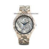 Hot Selling Unisex Handmade Wood Watch with Pattern Print