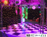 Waterproof White and Black Acrylic Panel for Wedding Party Disco Stage LED Starlit Dance Floor