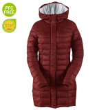 Winter Womens Fake Down Padded Jacket Outdoor Warm Slim Fit Quilted Jacket for Women