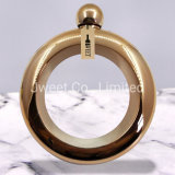 Bracelet Gold Color Stainless Steel Rum Mini Hip Flask