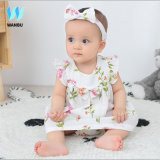 3 PCS Baby Clothes Set Cotton Yarn Sleeveless Baby Clothes Summer 2020