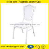 Luxurious White Wedding Chair Event Chair Banquet Chair with PU Cover