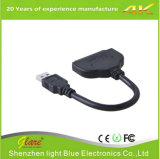 USB3.0 to SATA Adapter Converter Cable 22pin Data Power Cable