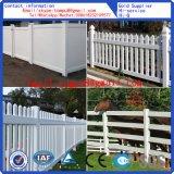 PVC White Plastic Picket Fence Good Price