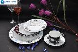 20PCS Morden Bone China Dubai Wholesale Dinnerware Ceramic
