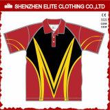 Wholesale Sublimation Quick Dry Customized Golf Shirt (ELTMPJ-317)