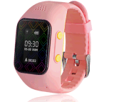 Kids Pink Smart Watch GPS GPRS Tracker SIM Sos Call for Android Ios