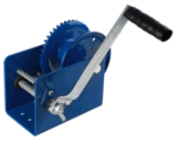 Hand Winch (H-1800A) . Cable or Strap Optional