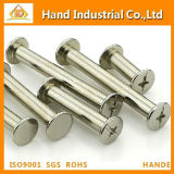 Rivet Head Binding Post Fastener Screws, Made-in-China