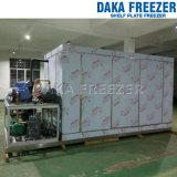 2000kg/Batch Horizontal Shelf Aluminum Plate Freezer