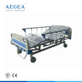 Cheap Wholesales 3 Functions Manual Crank Adjustable Furniture Patient Medical Fowler Hospital Bed Price Supplies