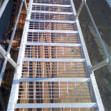 Customized Special Shape Galvanized Stainless/Carbon Steel Grating Untreated Inclined/Vertical/Revolving Stair Tread