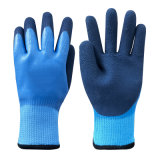 Waterproof Double Latex Nitrile Coating Safety Work Glove
