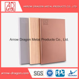 Fireproof Aluminum Solid Sheet for Wall Decoration