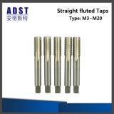 HSS High Hardness Machine Tool Straight Fluted Taps Machine Taps
