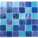 Blue Square Glass Swimming Pool Tile Mosaic China Wholesale Supplier