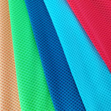 Wicking Interlock Polyester Knitted Fabric Breathable Accessories Mesh Knit Fabric