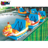 Funny Outdoor Amusement Park Chinese Dragon Electrical Track Train (KL6012)