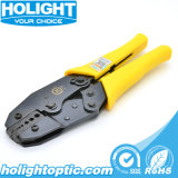 Optical Fiber Connector Crimp Tool Ht-336j Ratchet Type Crimping Tool for Fiber Optic Cable