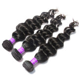 Wholesale European Virgin Natural Color 100 Curly Human Hair Extension Can Be Dyed! !