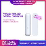 Portable 5.5in UV Sterilization Lights UVC Baby Bottle Blue USB Germicidal Light Cheap Mask UV Sterilizer Lamp