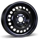 15X6 (4-100) Black Winter Steel Wheel