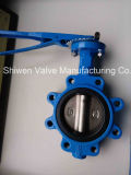 Full Lugged Type Butterfly Valve with Manual/ Worm Gear Actuator