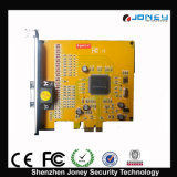 H. 264 Compression Realtime 4CH/8CH Video/Audio TV out DVR Card PCI-E