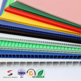 Colorful Plastic Corrugated Board Hollow PP Sheet