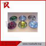 Driveway Round Elements Red Cat Eye Glass Beads Reflector