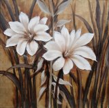 Oil Painting of Decorative Flowers-5