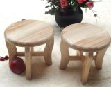 Solid Wooden Round Stool (M-X2106)