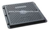 EN124 A15 600x600 SMC Manhole Cover with Screw Lock