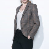 Stylish Design Women Tailored Check Suit