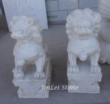 Natural Stone Marble Carving Statue Carved Garden Sculpture for Decoration