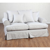Two Seater Fabric Living Room Furniture Sofa