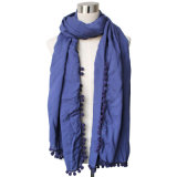 Lady Viscose Matta Voile Fashion Scarf (YKY4375-3)
