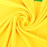 75D Knitted 100% Polyester 120GSM Interlock Linig Fabric