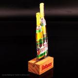 Exclusive Loge Portable Wooden Base Acrylic Wine Desktop Display