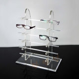 12 Pairs Acrylic Sunglasses Display Stand, Eyewear Display