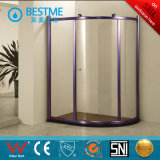 Champange-Color Aluminum Sliding Shower Enclosure (BL-Z3507)
