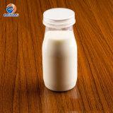 200ml Wholesale Popular Hot Sale Mini Milk Pudding Yogurt Clear Plastic Portable Bottle with Lid Food Safe