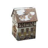 House Shape Gift Tin Box Festival Celebrate