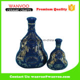 Wholesale Empty Ceramic Liquor Bottle Wine Bottle Drinking Bottle for Tequlia